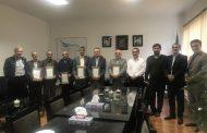 تجلیل از همکاران بازنشسته شرکت بهره برداری از شبکه های آبیاری گیلان