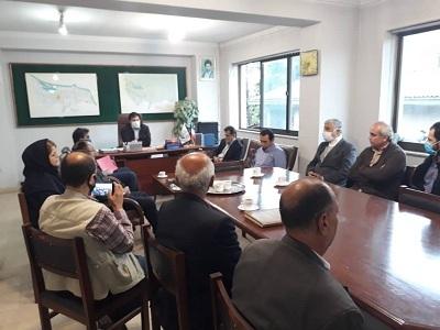 برگزاری مراسم معارفه رؤسای ادارات آبیاری لاهیجان، فومن و تولمات