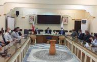 جلسه بررسی بحران آب در اراضی پایین دست نهر سیدعلی اکبری