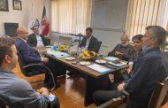 برگزاری جلسه عمومی عادی سالیانه شرکت بهره برداری از شبکه های آبیاری و زهکشی گیلان